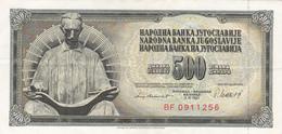 Yugoslavia , SFRJ  500  Dinara 1981 - Yugoslavia