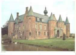Photo ( Format A4) Du Château De RUMBEKE ( Roeselare )- Fiche Didactique Au Verso - Edition ELF Carburant - Sammlungen