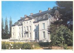 Photo ( Format A4) Du Château De WALEFFE ( Hannut, Huy)- Fiche Didactique Au Verso - Edition ELF Carburant - Sammlungen