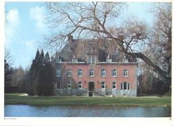 Photo ( Format A4) Du Château De HANZINELLE ( Florennes)- Fiche Didactique Au Verso - Edition ELF Carburant - Sammlungen