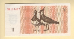 Lituanie. 1 Talonas 1992. Pick N° 39. UNC - Lituanie