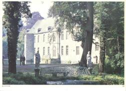 Photo ( Format A4) Du Château D' ANNEVOIE ( Dinant )- Fiche Didactique Au Verso - Edition ELF Carburant - Sammlungen