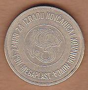 AC - JUGOSLAVIJA YUGOSLAVIA PTT TELEPHONE B TOKEN JETON - Monetary/Of Necessity