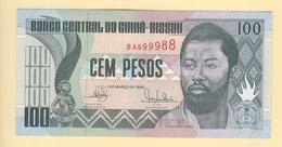 Guinée Bissau. 100 Pesos Pick N° 11. UNC. - Guinea-Bissau