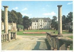 Photo ( Format A4) Du Château D'ATTRE (Ath)  Fiche Didactique Au Verso - Edition ELF Carburant - Collections
