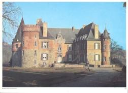 Photo ( Format A4) Du Château De BRAINE - LE  CHATEAU  (Halle)  Fiche Didactique Au Verso - Edition ELF Carburant - Collections