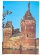 Photo ( Format A4) Du Château De BEERSEL  (Halle)  Fiche Didactique Au Verso - Edition ELF Carburant - Sammlungen
