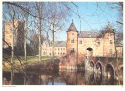 Photo ( Format A4) Du Château De GROOT - BIJGAARDEN -  Fiche Didactique Au Verso - Edition ELF Carburant - Sammlungen