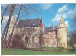 Photo ( Format A4) Du Château De LAARNE  (Gent )  -  Fiche Didactique Au Verso - Edition ELF Carburant - Sammlungen
