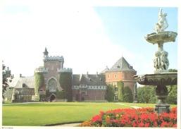 Photo ( Format A4) Du Château De GAASBEEK ( Halle ) -  Fiche Didactique Au Verso - Edition ELF Carburant - Sammlungen