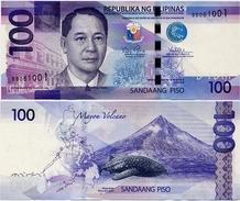 PHILIPPINES      100 Piso      P-208[d]       2014      UNC - Filippine