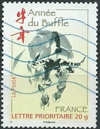 France / 2009 / N° 4325  L 'année Du Buffle - France