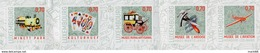 Luxembourg - 2016 - Local Museums - Mint Self-adhesive Booklet Stamp Set - Nuevos