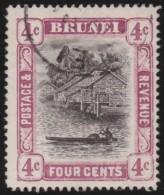 Brunei       .       SG     .     26a     .     O      .      Gebruikt   .    /    .     Cancelled - Brunei (...-1984)