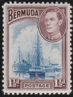 Bermuda     .       SG     .     111a       .     *       .    Ongebruikt    .    /    .    Mint-hinged - Bermuda