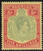 Bermuda     .       SG     .     118d       .     *       .    Ongebruikt    .    /    .    Mint-hinged - Bermuda