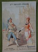 La Tzigane - 3ème Acte, Scène  12ème - Publicité Pour Valley-Pouge, Teinturier à Montargis - Ve Gousserey Imp. - Chromo