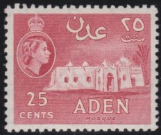 Aden       .    SG     .    55a   .     *    .    Ongebruikt    .    /    .    Mint-hinged - Aden (1854-1963)