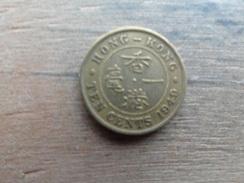 Hong Kong  10  Cents  1949  Km 25 - Hong Kong