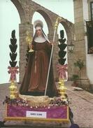 VILA  DO  CONDE -   PROCISSÃO  DE  CINZAS  ANDOR   DE  SANTA   ISABEL,  RAINHA  DE  PORTUGAL - Holy Places