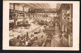 LE CREUSOT . Vue D'ensemble De L'atelier De Montage Des Locomotives . - Le Creusot