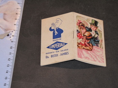 CALENDRIER 1954 - MOUTARDE L'IMPERIALE - ETS BISTER-JAMBES - Calendriers
