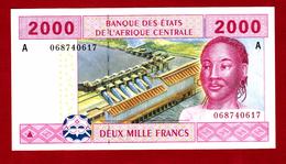 Central African States 2000 CFA 2002 - États D'Afrique Centrale