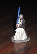 Figurine Star Wars En Plomb Éditions Atlas N°6 - Obi Wan Kenobi - Episodio I