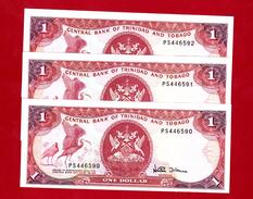 Trinidad & Tobago Lot 3 X 1 Dollar - Trinité & Tobago