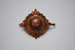 Ancien Insigne Ordre De Bath UK 1914-1918 En Métal Doré 30mm - Zonder Classificatie