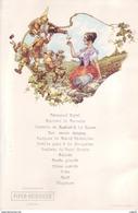 Menu Illustré Par Chéri Hérouard Début XXème - Champagne Piper-Heidsieck (les Huîtres De Cancale Sont Déjà à L'honneur) - Menus