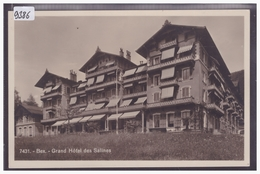 DISTRICT D'AIGLE - BEX - GRAND HOTEL DES SALINES - TB - VD Vaud