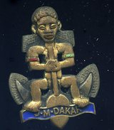 Ancien Insigne émaillé Unité Marine Dakar -- Drago Paris Nice  Ins5 - Navy