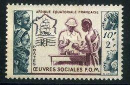 A E F (  POSTE ) : Y&T N°  227  TIMBRE  NEUF  AVEC  TRACE  DE  CHARNIERE , A  VOIR . - Neufs