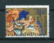2000 New Zealand $1.10 Christmas,kerst,noël,weihnachten Used/gebruikt/oblitere - Gebruikt