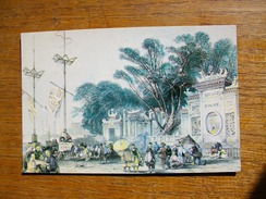 Chine , Macao  , Façade Du Grand Temple De Macao - China