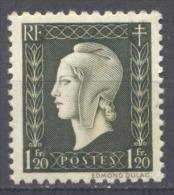 France YT N°690 Marianne De Dulac Neuf ** - 1944-45 Maríanne De Dulac