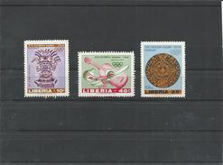 LIBERIA  SERIE   MNH  ** - Verano 1968: México