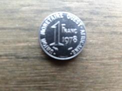 West Africa  1  Franc  1978  Km 8 - Monnaies