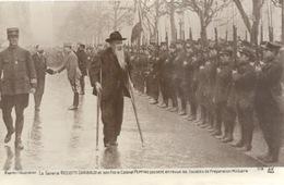 Militaria,  Le Général Ricciotti Garibaldi Et Son Fils Le Colonel Peppino - Illustré Par,  ? - Réf, E - Militari