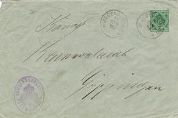 23539. Entero Postal JEBENHAUSEN (Wurtemberg) 1899. Correo Oficial, Service - Wurtemberg