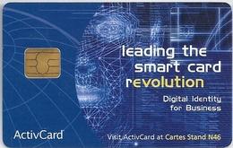 ActivCard Smart Cards Chip Promotional - Tarjetas Telefónicas