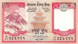 NEPAL  5 RUPIAS  ND (2.009)  KM#60   PLANCHA/UNC/SC      DL-7195 - Nepal