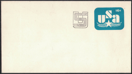 AZ385    USA 1979 Scott U586 16c. USA Revalued,  Postcard Stationery - Interi Postali