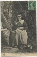 LARIVIERE Type De MENDIANTE Femme, Rare - Frankreich