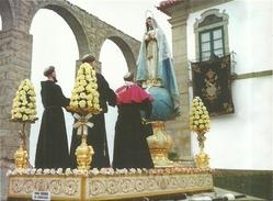 VILA   DO  CONDE  -    PROCISSÃO  DE  CINZAS  ANDOR  DA  IMACULADA  CONCEIÇÃO - Holy Places