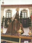VILA   DO  CONDE  -    PROCISSÃO  DE  CINZAS  ANDOR  DE  SANTA  MARGARIDA  DE   CORTANA - Holy Places