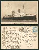 BARCOS SHIP BATEAU PAQUEBOT STEAMER [BARCOS #01425] - ROYAL MAIL - ASTURIAS - Steamers
