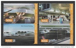 Malaysia (2014) - Set -  /   Airport - Aircraft - Airplane - Avion - Train - Trains - Aviones