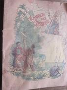 1895 ALMANACH DES MISSIONS BELLE ILLUSTRATIONS CHROMOS Réclames PUB  Religion Chrétienne Bureau Calendrier Prosélytisme - Calendriers